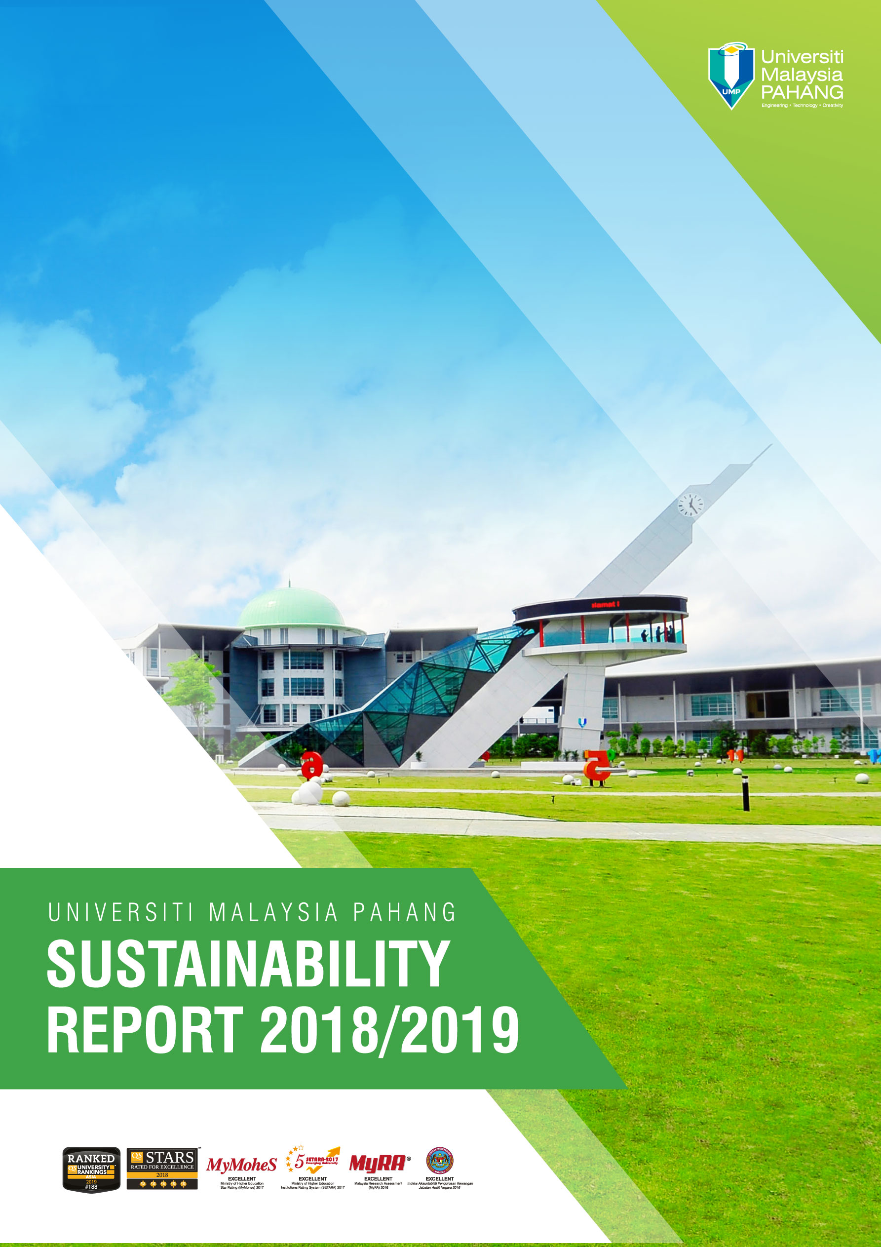 UMP SUSTAINABILITY REPORT 2018/2019